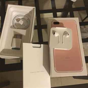 Apple iPhone 7 Plus 4G Phone 128GB, Rose Gold